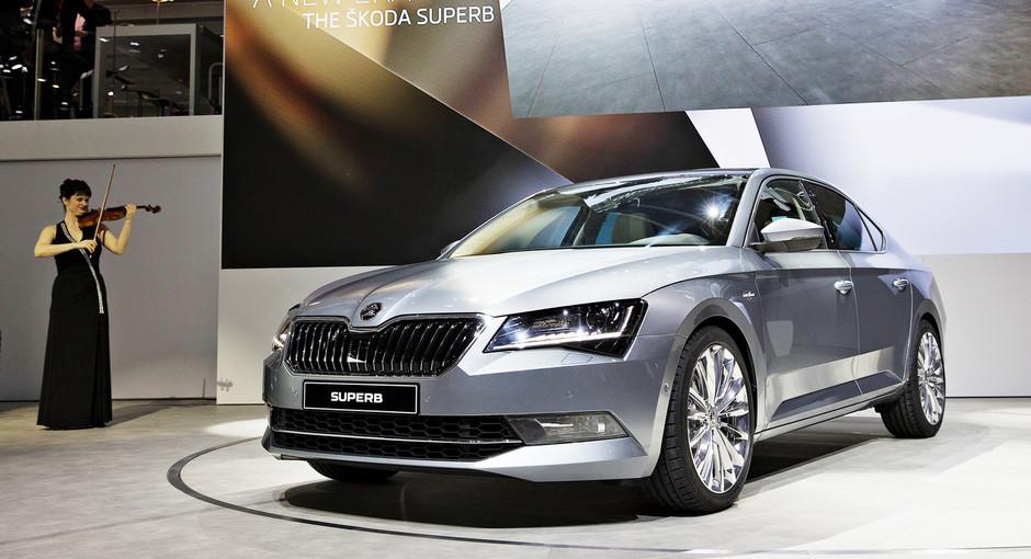 Nova ŠKODA Superb
